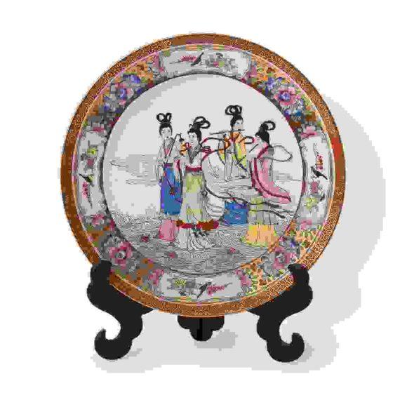 Korean dishware plate