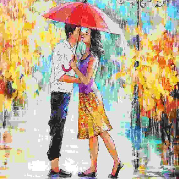 Rainy season welcomes the romantics